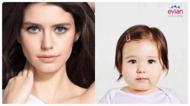 Son günlerin en çok konuşulan telefon uygulaması kuşkusuz 'Evian'... Çekilen fotoğraflarla insanların muhtemel bebeklerini belirleyen programı ünlüler üzerinde denersek ortaya nasıl bebekler çıkar diye merak ettiniz mi? İşte cevabı...