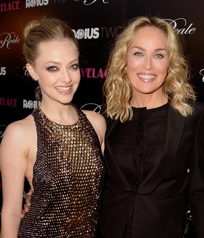 Amanda Seyfried ve Sharon Stone