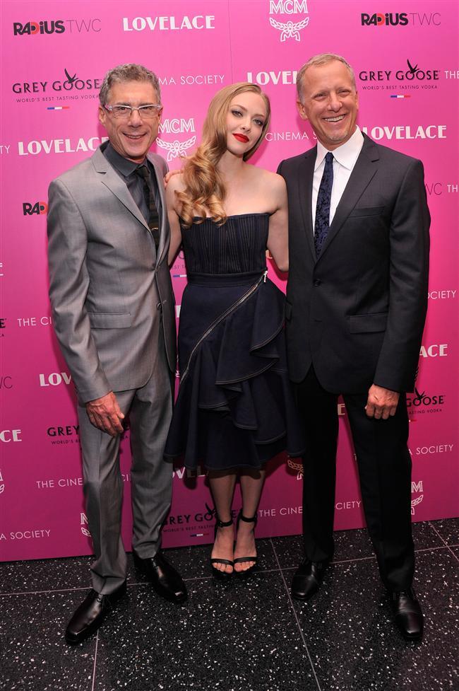 Amanda Seyfried ve Yönetmen Jeffrey Friedman