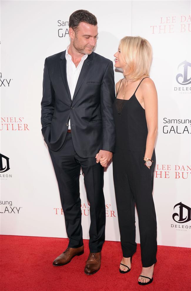 Aktör Liev Schreiber ve Oyuncu Naomi Watts