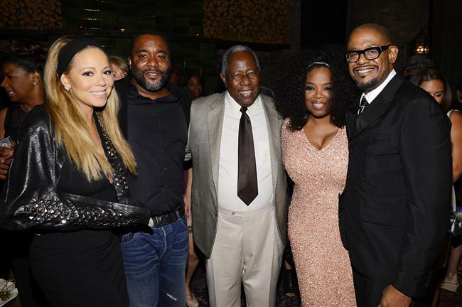 Mariah Carey - Yönetmen Lee Daniels - Hank Aaron ve Oprah Winfrey