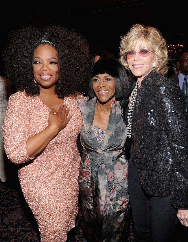 Oprah Winfrey Cicely Tyson ve Jane Fonda