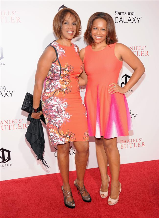 Gayle King ve Kirby Bumpus