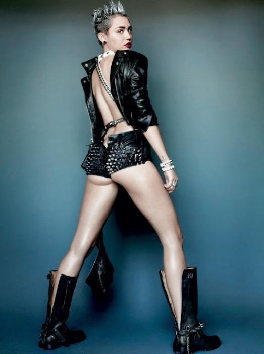 Miley Cyrus'un en çarpıcı fotoğrafları - 3