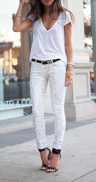 En güzel beyaz kombinler! - 32