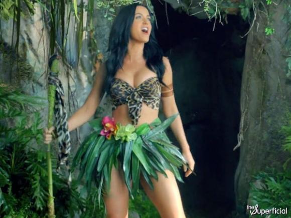 Dişi tarzan: Katy Perry! - 10