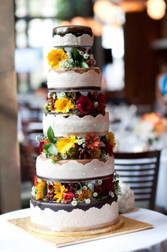 Tasarım harikası düğün pastaları - 14