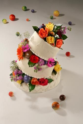Tasarım harikası düğün pastaları - 2