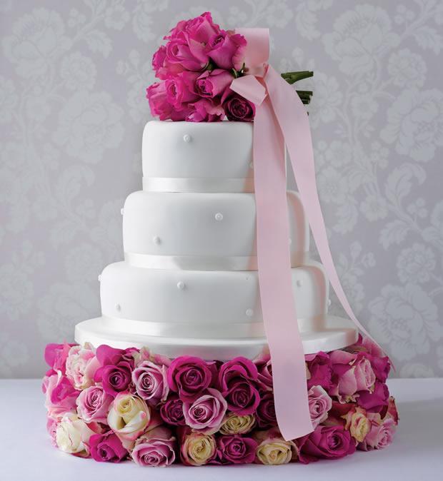 Tasarım harikası düğün pastaları - 1