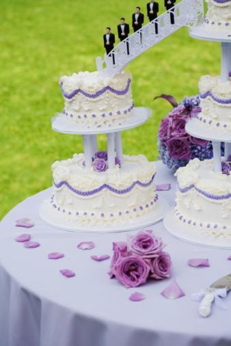Tasarım harikası düğün pastaları - 12