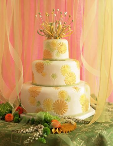 Tasarım harikası düğün pastaları - 11