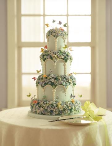 Tasarım harikası düğün pastaları - 13