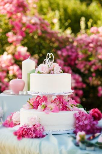 Tasarım harikası düğün pastaları - 10