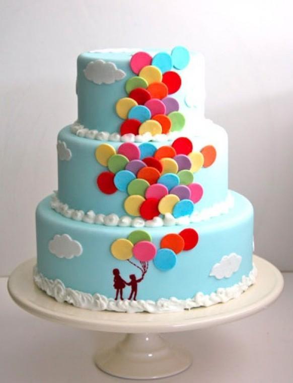 Tasarım harikası düğün pastaları - 4