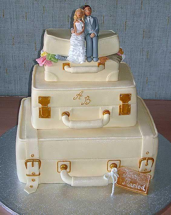 Tasarım harikası düğün pastaları - 5