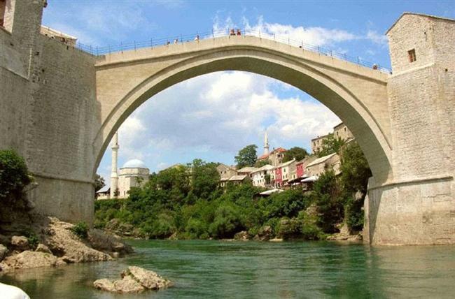 Bosna Hersek - Mostar Köprüsü