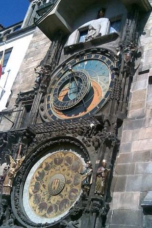 Çek Cumhuriyeti - Tarihi Saat Kulesi