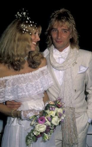 Rod Stewart ve Alana Hamilton, 1979.