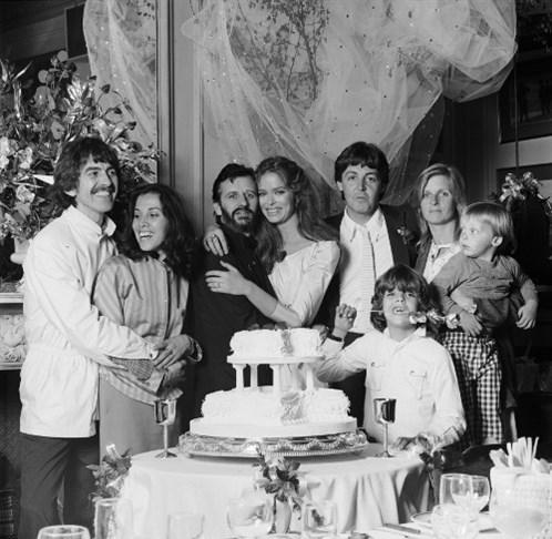 Ringo Starr ve wife Barbara Bach, 1981