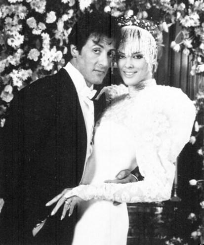 ABD basınından Huffington Post ünlülerin unutulmaz düğün fotoğraflarını derledi.  Sylvester Stallone ve Brigitte Nielsen