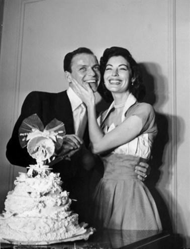 Frank Sinatra ve Ava Gardner, 1951.