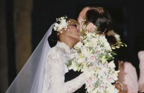 Diana Ross ve Arne Næss Jr., 1986.
