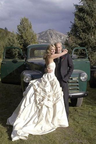 Kevin Costner ve Christine Baumgartner