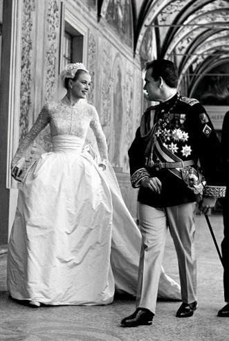 Grace Kelly ve Monaco Prensi Rainier III