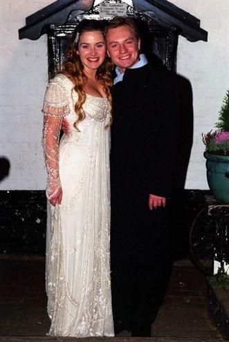 Kate Winslet'ın ilk evliliği. Kata Winslet ve Jamie Threapleton