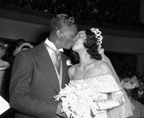 Nat King Cole ve Maria Hawkins Ellington, 1948.