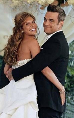 Robbie Williams ve Ayda Field