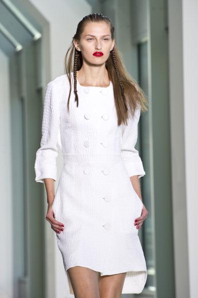 Londra Moda Haftası&Antonio Berardi defilesi - 19