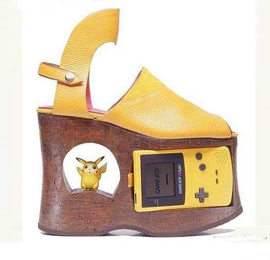 Dünyanın en değişik ayakkabıları - 21