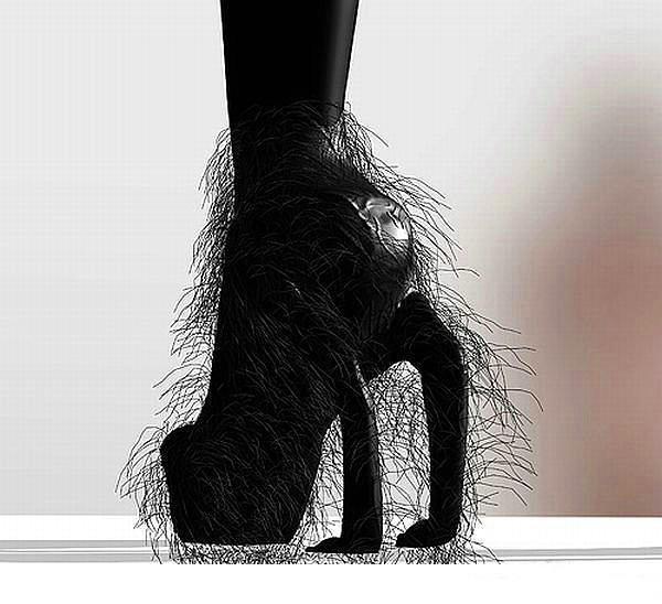 Dünyanın en değişik ayakkabıları - 12