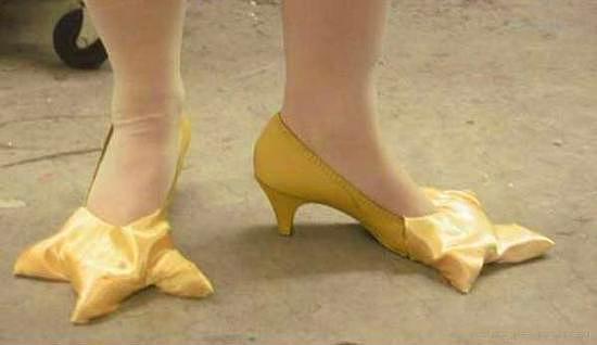 Dünyanın en değişik ayakkabıları - 48