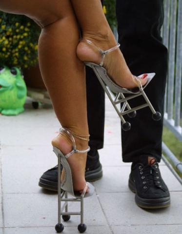 Dünyanın en değişik ayakkabıları - 5