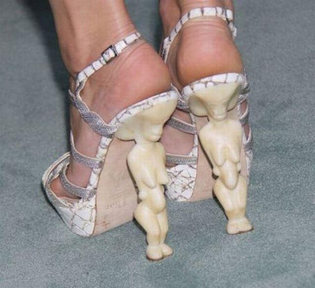 Dünyanın en değişik ayakkabıları - 35