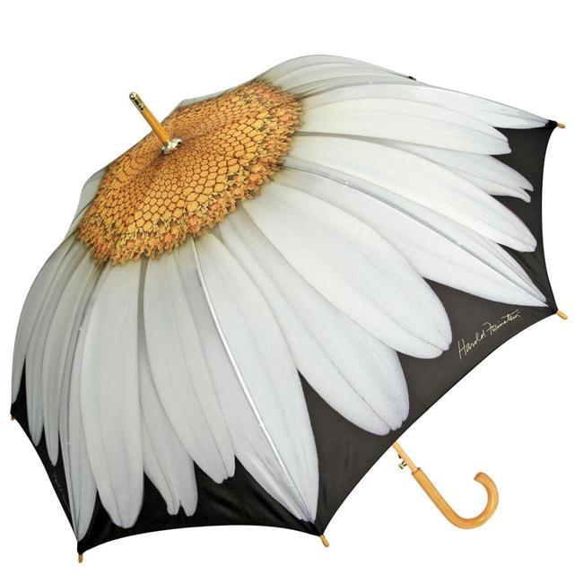 Papatya desenli şemsiye