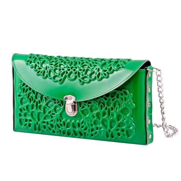 Yeşil portföy çanta