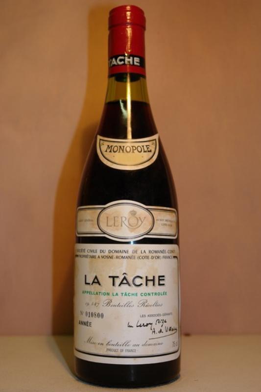 1978 Montrachet Domaine de la Romanée Conti - $23,929  Amerika'nın en pahalı şaraplarından biridir. 7 şişesinin 167,50 $'dan alıcı bulduğu kaydedilmiştir. 1 şişesi de $23,929′dan satılıyor. Beyaz üzümden üretilen bu şarap için canlı ve parlak anlatımları kullanılıyor. Şarap, bal ve kavrulmuş badem tadındadır.