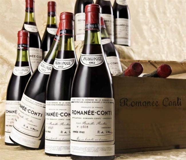 1934 DRC Romanée Conti - $20,145  Heyecan uyandırıcı bir aroma sahiptir. Tadanlar tarafından karşı konulamaz bir kokuya sahip olduğu söylenir. Uzmanlar mentolle harmanlanmış güzel kokulu bu şarabın mükemmel bir dokuya sahip olduğunu söylüyorlar.