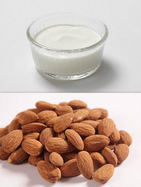 Hindistan  Hindistan'da, her gece yoğurt ve bademden yapılan maskenin yapılması zorunludur. On adet badem ezilir ve sonra yoğurtla karıştırılarak cilde sürülür. 25 dakika bekledikten sonra cilt temizlenir.