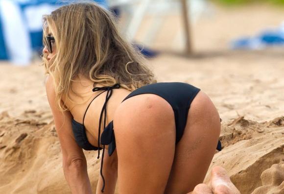 Carmen plajı salladı - 1
