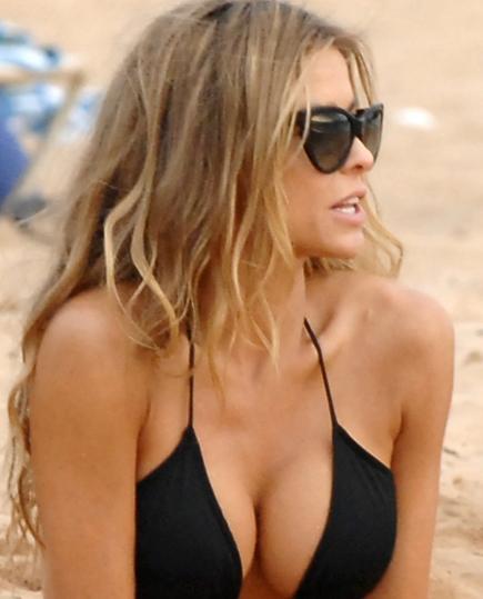 Carmen plajı salladı - 5