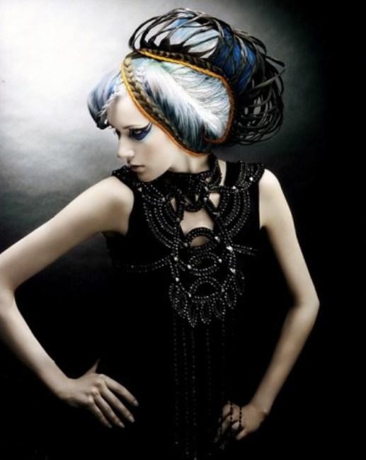 Siz de görüntünüzde marjinallikten yanaysanız, bu saç modellerini çok beğeneceksiniz...