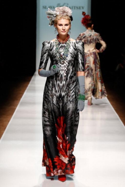Rusya Moda Haftası & Slava Zaitsev defilesi - 20