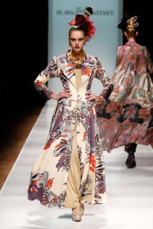 Rusya Moda Haftası & Slava Zaitsev defilesi - 18