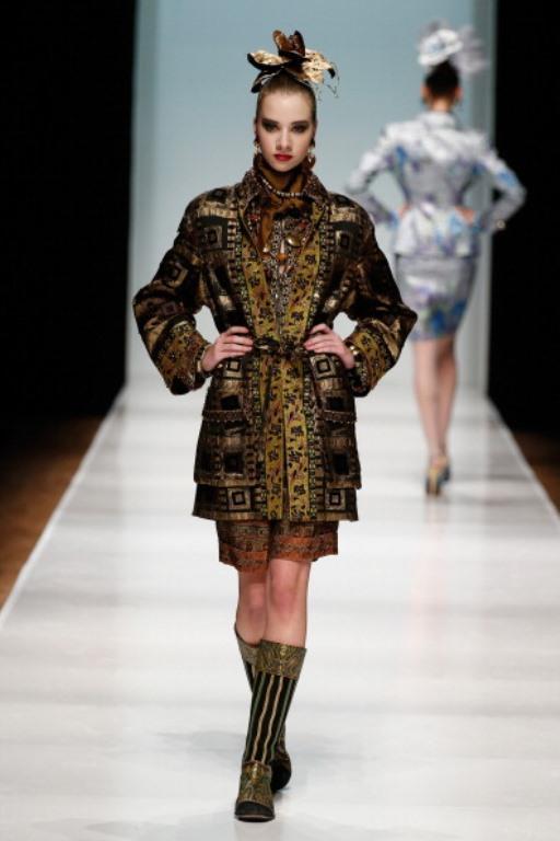 Rusya Moda Haftası & Slava Zaitsev defilesi - 11