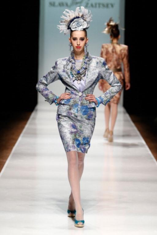 Rusya Moda Haftası & Slava Zaitsev defilesi - 10