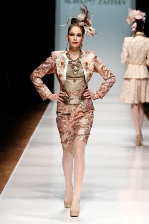 Rusya Moda Haftası & Slava Zaitsev defilesi - 61